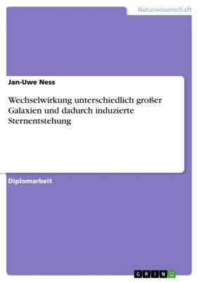 Wechselwirkung unterschiedlich großer Galaxien und dadurch induzierte Sternentstehung, Jan-Uwe Ness