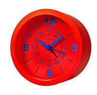 Wecker mit 3 Silikonhüllen zum Wechseln (Farbe: rot/blau/schwarz) - Produktdetailbild 2