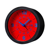 Wecker mit 3 Silikonhüllen zum Wechseln (Farbe: rot/blau/schwarz) - Produktdetailbild 3