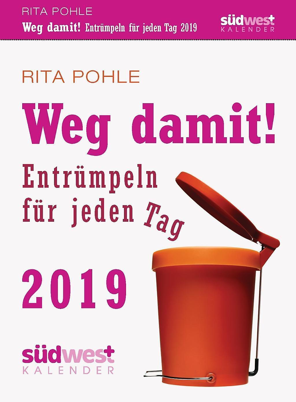 Weg damit! 2019 Tagesabreißkalender - Kalender bei Weltbild.de