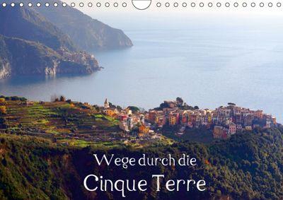 Wege durch die Cinque Terre (Wandkalender 2019 DIN A4 quer), Thomas Erbacher