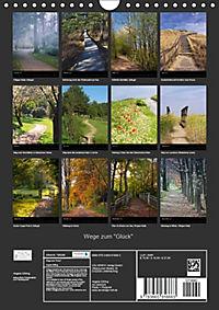 """Wege zum """"Glück"""" (Wandkalender 2018 DIN A4 hoch) Dieser erfolgreiche Kalender wurde dieses Jahr mit gleichen Bildern und - Produktdetailbild 13"""