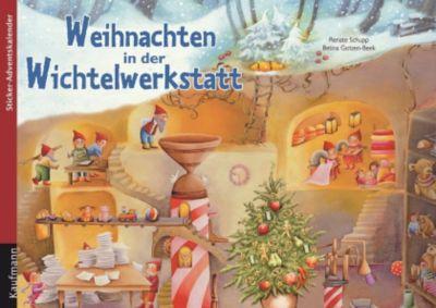 Weihnachten in der Wichtelwerkstatt, Renate Schupp, Betina Gotzen-Beek