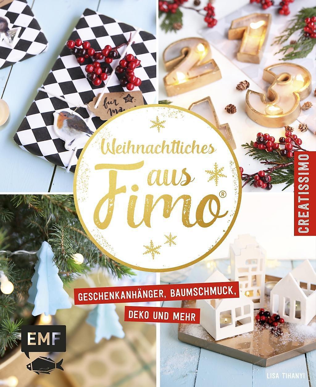 Weihnachtliches aus fimo buch bei online bestellen - Weihnachtliches dekorieren ...