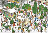 Weihnachtsbaummarkt (Puzzle) - Produktdetailbild 1