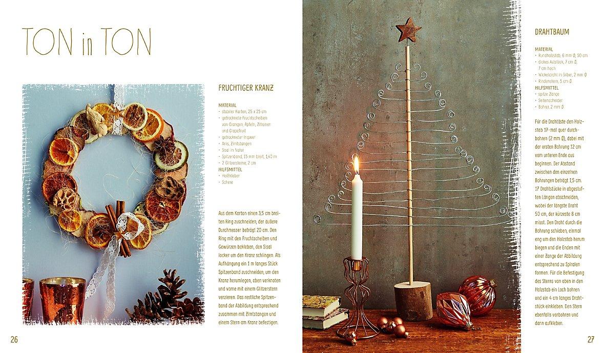Weihnachtsdeko Material.Weihnachtsdeko Aus Der Natur Buch Bei Weltbild De Bestellen