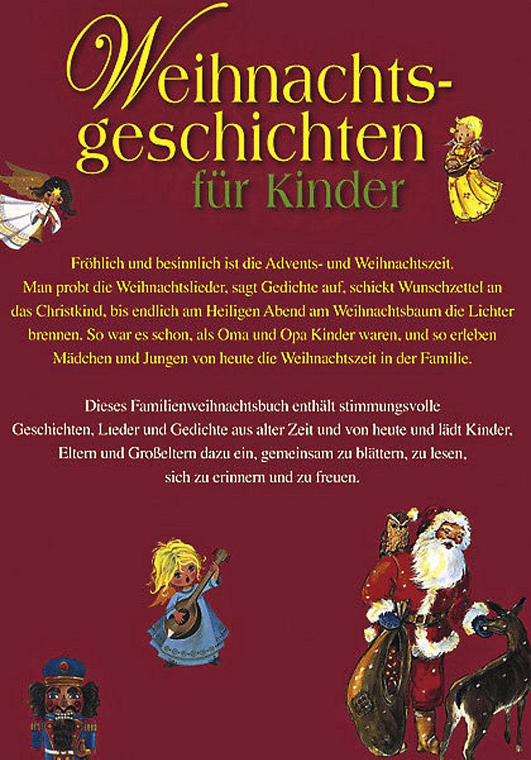 Weihnachtsgeschichten Für Kinder Buch Bei Weltbildde Bestellen