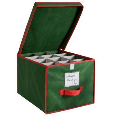 Christbaumkugeln 25 Cm.Möbel Wohnen Boxen Aufbewahrungsbox Für Christbaumkugeln Für 24