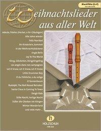 Weihnachtslieder aus aller Welt, für C- und F-Blockflöte solo oder Duett, Uwe Sieblitz