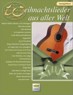 Weihnachtslieder aus aller Welt, für Gesang und Gitarre, Hans Westermeier