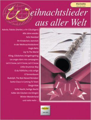 Weihnachtslieder aus aller Welt, für Klarinette solo oder Duett, Uwe Sieblitz