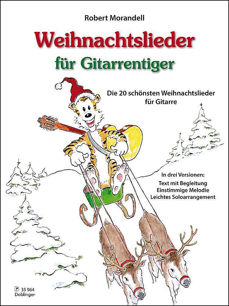 Weihnachtslieder für Gitarrentiger Buch portofrei bei Weltbild.de