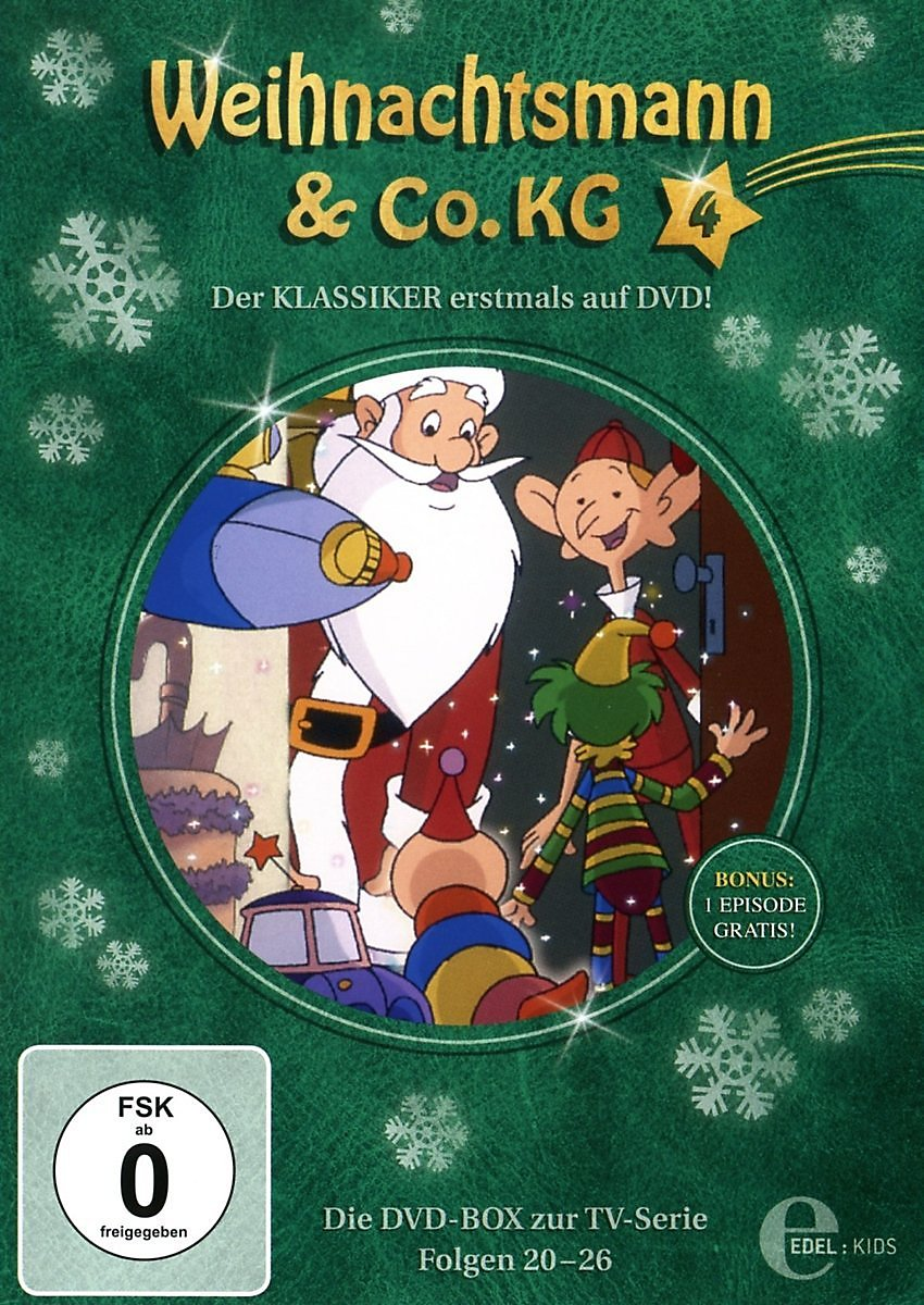 Weihnachtsmann & Co. KG, Vol. 4, Folgen 20-26 DVD | Weltbild.at