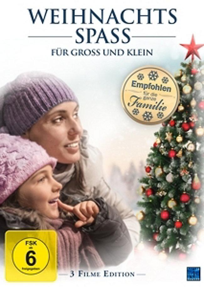 Spielfilme An Weihnachten 2019.Weihnachtsspaß Für Groß Und Klein 3 Filme Edition Film Weltbild De