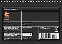 Weimar Impressionen (Tischkalender 2019 DIN A5 quer) - Produktdetailbild 13
