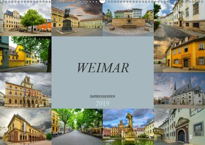 Weimar Impressionen (Wandkalender 2019 DIN A2 quer), Dirk Meutzner