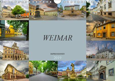 Weimar Impressionen (Wandkalender 2019 DIN A4 quer), Dirk Meutzner