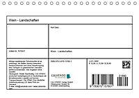 Wein - Landschaften (Tischkalender 2019 DIN A5 quer) - Produktdetailbild 13