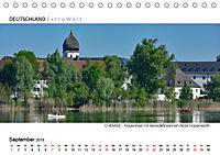 Weissblaue Impressionen vom CHIEMSEE Panoramabilder (Tischkalender 2019 DIN A5 quer) - Produktdetailbild 9