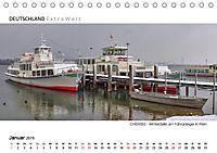 Weissblaue Impressionen vom CHIEMSEE Panoramabilder (Tischkalender 2019 DIN A5 quer) - Produktdetailbild 1