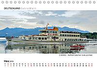Weissblaue Impressionen vom CHIEMSEE Panoramabilder (Tischkalender 2019 DIN A5 quer) - Produktdetailbild 3