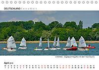 Weissblaue Impressionen vom CHIEMSEE Panoramabilder (Tischkalender 2019 DIN A5 quer) - Produktdetailbild 4