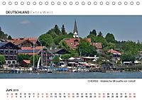 Weissblaue Impressionen vom CHIEMSEE Panoramabilder (Tischkalender 2019 DIN A5 quer) - Produktdetailbild 6