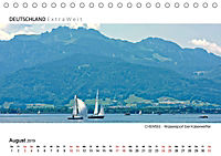 Weissblaue Impressionen vom CHIEMSEE Panoramabilder (Tischkalender 2019 DIN A5 quer) - Produktdetailbild 8