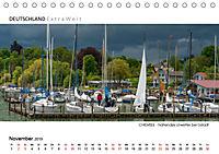 Weissblaue Impressionen vom CHIEMSEE Panoramabilder (Tischkalender 2019 DIN A5 quer) - Produktdetailbild 11