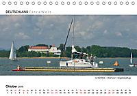 Weissblaue Impressionen vom CHIEMSEE Panoramabilder (Tischkalender 2019 DIN A5 quer) - Produktdetailbild 10