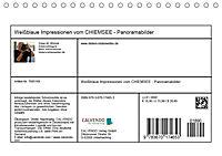 Weissblaue Impressionen vom CHIEMSEE Panoramabilder (Tischkalender 2019 DIN A5 quer) - Produktdetailbild 13