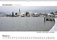 Weißblaue Impressionen vom TEGERNSEE Panoramabilder (Wandkalender 2019 DIN A3 quer) - Produktdetailbild 2