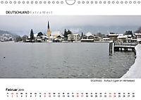 Weißblaue Impressionen vom TEGERNSEE Panoramabilder (Wandkalender 2019 DIN A4 quer) - Produktdetailbild 2