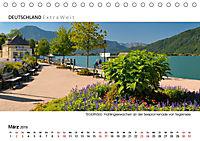 Weissblaue Impressionen vom TEGERNSEE Panoramabilder (Tischkalender 2019 DIN A5 quer) - Produktdetailbild 3