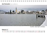 Weissblaue Impressionen vom TEGERNSEE Panoramabilder (Tischkalender 2019 DIN A5 quer) - Produktdetailbild 2