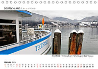Weissblaue Impressionen vom TEGERNSEE Panoramabilder (Tischkalender 2019 DIN A5 quer) - Produktdetailbild 1