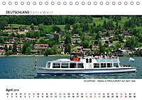 Weissblaue Impressionen vom TEGERNSEE Panoramabilder (Tischkalender 2019 DIN A5 quer) - Produktdetailbild 4