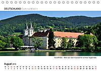 Weissblaue Impressionen vom TEGERNSEE Panoramabilder (Tischkalender 2019 DIN A5 quer) - Produktdetailbild 8