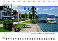 Weissblaue Impressionen vom TEGERNSEE Panoramabilder (Tischkalender 2019 DIN A5 quer) - Produktdetailbild 7