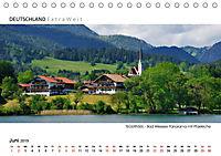 Weißblaue Impressionen vom TEGERNSEE Panoramabilder (Tischkalender 2019 DIN A5 quer) - Produktdetailbild 6