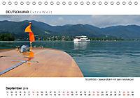 Weissblaue Impressionen vom TEGERNSEE Panoramabilder (Tischkalender 2019 DIN A5 quer) - Produktdetailbild 9