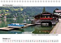 Weissblaue Impressionen vom TEGERNSEE Panoramabilder (Tischkalender 2019 DIN A5 quer) - Produktdetailbild 10