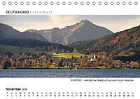 Weissblaue Impressionen vom TEGERNSEE Panoramabilder (Tischkalender 2019 DIN A5 quer) - Produktdetailbild 11
