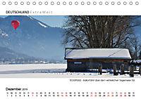 Weissblaue Impressionen vom TEGERNSEE Panoramabilder (Tischkalender 2019 DIN A5 quer) - Produktdetailbild 12