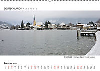 Weißblaue Impressionen vom TEGERNSEE Panoramabilder (Wandkalender 2019 DIN A2 quer) - Produktdetailbild 2