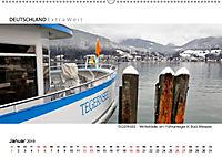 Weißblaue Impressionen vom TEGERNSEE Panoramabilder (Wandkalender 2019 DIN A2 quer) - Produktdetailbild 1