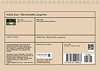 Weisse Esel - Märchenhafte Langohren (Tischkalender 2019 DIN A5 quer) - Produktdetailbild 13