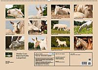 Weiße Esel - Märchenhafte Langohren (Wandkalender 2019 DIN A2 quer) - Produktdetailbild 13