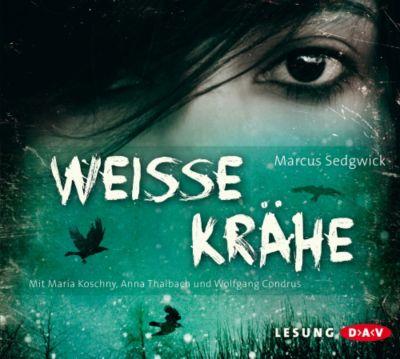 Weiße Krähe, 3 Audio-CDs, Marcus Sedgwick