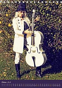 Weisses Cello auf Reisen (Tischkalender 2019 DIN A5 hoch) - Produktdetailbild 10